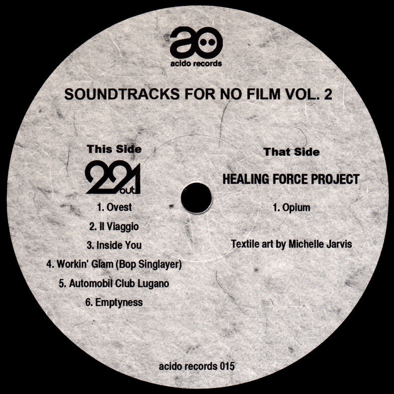 "VA - Soundtracks for No Film Vol. 2 - 12"" - acido 015"