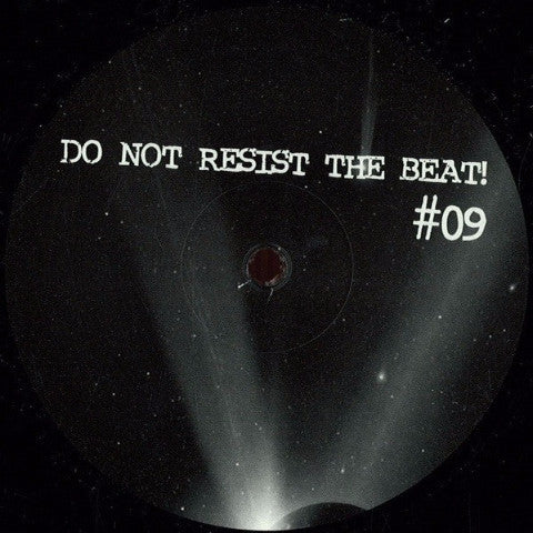"Milton Bradley - The Unheard Voice - 12"" - Do Not Resist The Beat - BEAT 09"