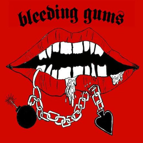 "Bleeding Gums - II - 7"" - Neck Chop Records - CHOP-005"