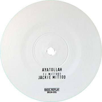 "Jackie Mittoo - Ayatollah - 12"" - Basic Replay - BRJM-001"