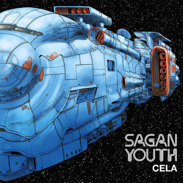 Sagan Youth - Cela - LP - Break World Records - BWR-005