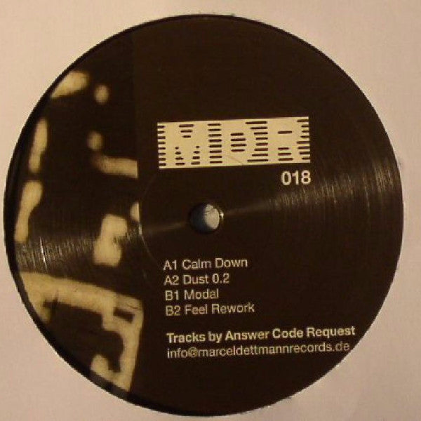 "Answer Code Request - Calm Down - 12"" - MDR - MDR 018"