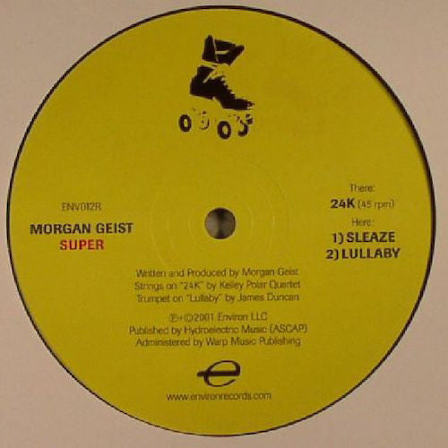 "Morgan Geist - Super - 12"" - Environ - ENV012R"
