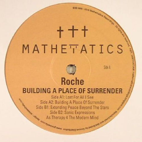 "Roche - Building a Place of Surrender - 12"" - Mathematics Recordings - MATH092"