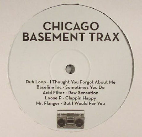 "Chicago Basement Trax - Here Comes Dat Sound - 12"" - Chicago Basement Trax - CBTRAX001"