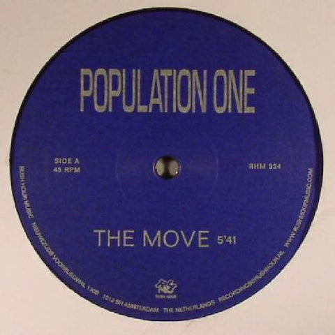 "Population One - The Move - 12"" - Rush Hour Recordings - RHM024"