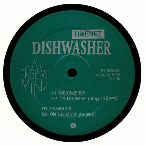 "Timenet - Dishwasher - 12"" - Frame of Mind - FOM05"