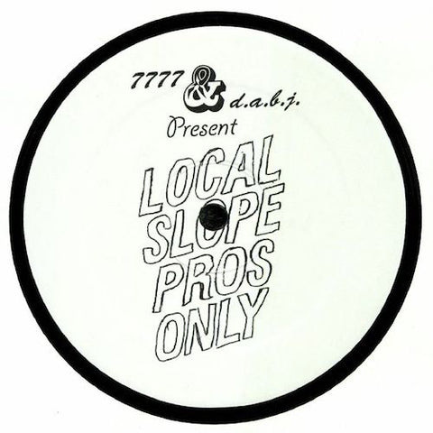 "Jared Wilson - Local Slope Pros Only - 12"" - 7777 - 7777-014"