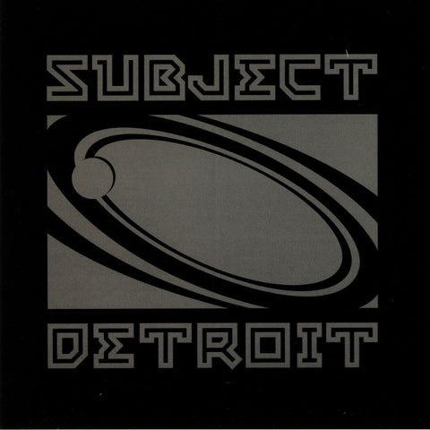 "DJ Bone - The Storytellers EP II - 2x12"" - Subject Detroit - SUB045"