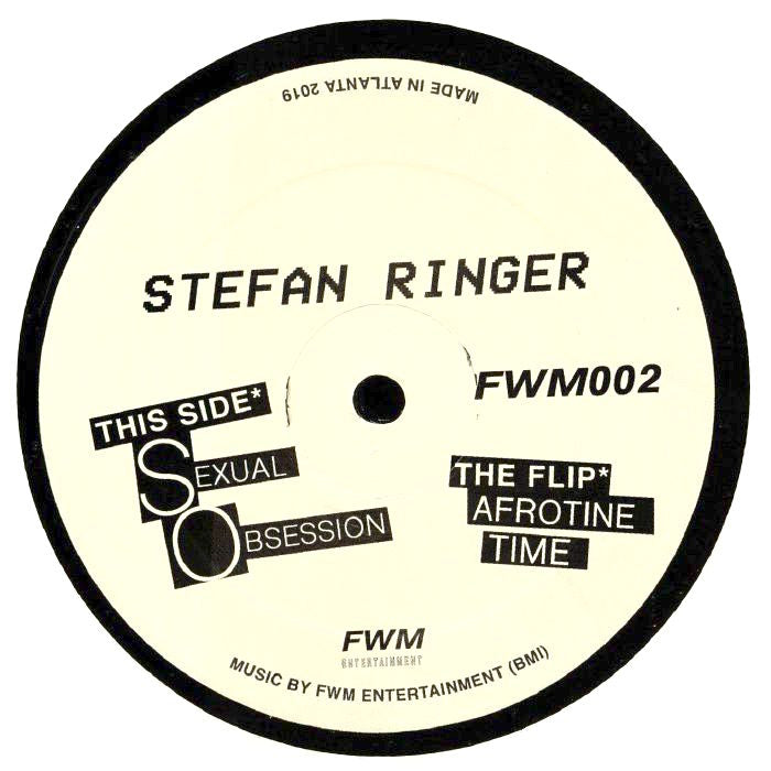"Stefan Ringer - 12"" - FWM Entertainment - FWM002"