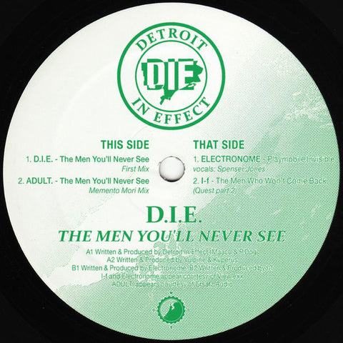 "VA -  The Men You'll Never See - 12"" - Clone West Coast Series - CWCSX"