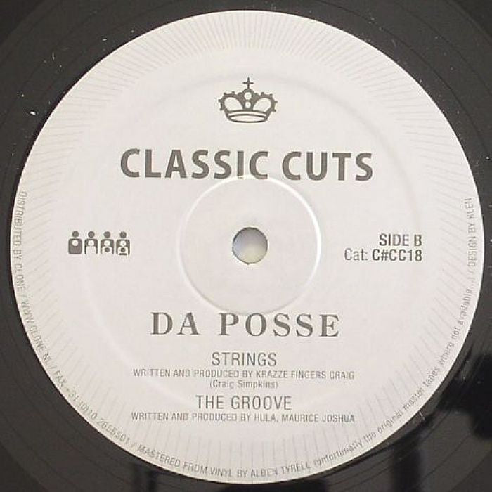 "Da Posse - It's My Life - 12"" - Clone Classic Cuts - C#CC18"