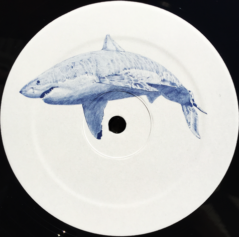 "Kyle Hall - The Shark EP - 12"" - Forget the Clock - FTC02"