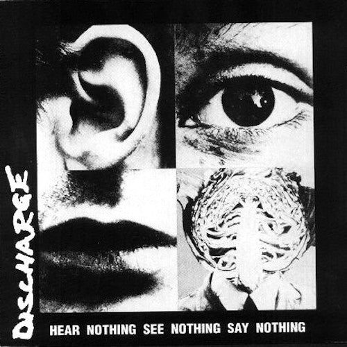 Discharge - Hear Nothing See Nothing Say Nothing - LP - Havoc Records - HC1243