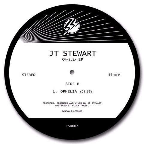 "JT Stewart - Ophelia EP - 12"" - Echovolt Records - EvR007"