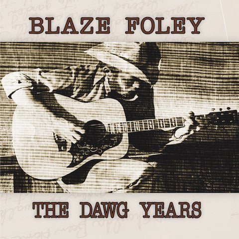 Blaze Foley - The Dawg Years - LP - Fat Possum Records - FP1223-1