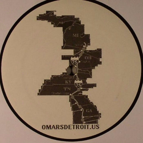 "Omar S and Kai Alce - Jive Time - 12"" - FXHE Records - FXHE D:A"