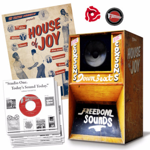 "VA - House of Joy - 15x7"" Box - Studio One - SOR-005"