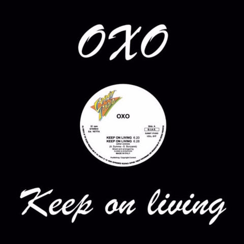 "Oxo - Keep On Living - 12"" - I.D. Limited - I.D.L. 017"