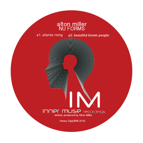 "Alton Miller - Nu Forms - 12"" - Inner Muse Recordings - IM-26"