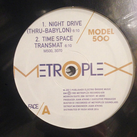 "Model 500 - Night Drive - 12"" - Metroplex - M-002"