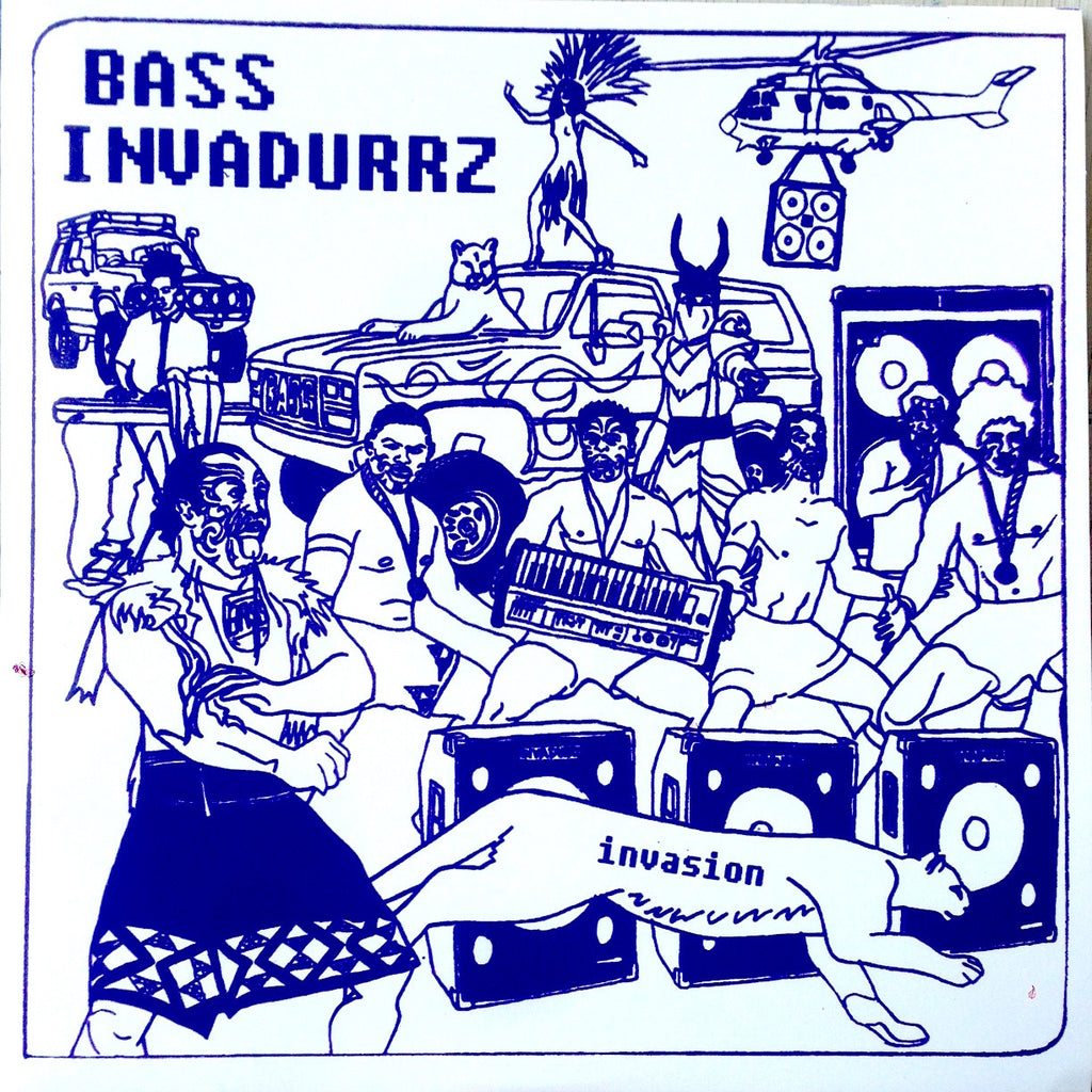 "Bass Invadurrz - Invasion - 12"" - frequeNC 08"