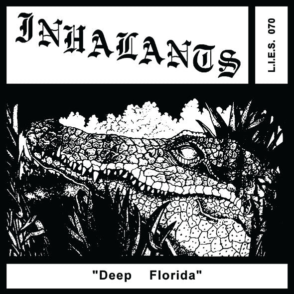 Inhalants - Deep Florida - LP - LIES 070