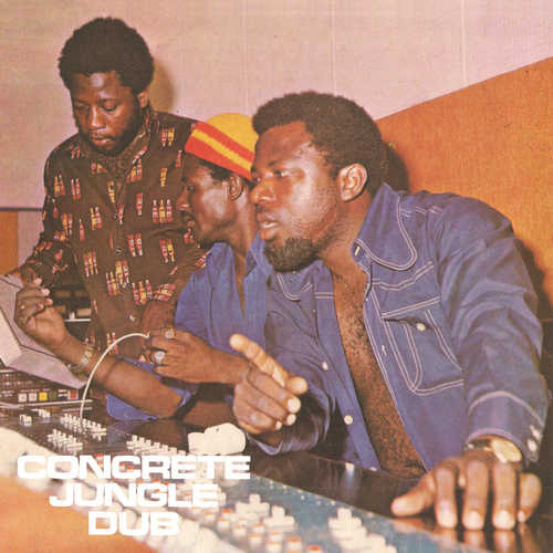 King Tubby & Riley All Stars - Concrete Jungle Dub - LP - Dub Store Records - DSR-LP-025