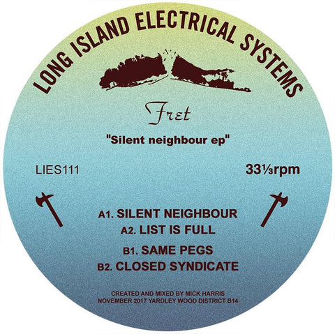 "Fret - Silent Neighbour EP - 12"" - LIES-111"
