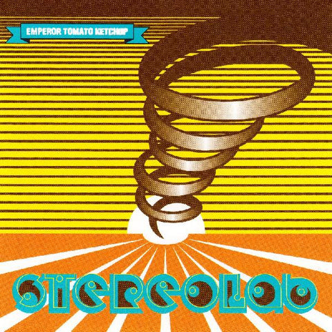 Stereolab - Emperor Tomato Ketchup - 3xLP - Duophonic Ultra High Frequency Disks - D-UHF-D11R