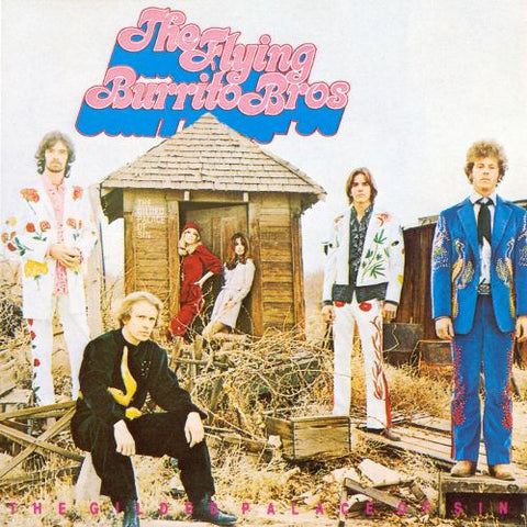 The Flying Burrito Brothers - The Gilded Palace of Sin - LP - 4 Men With Beards - 4M135