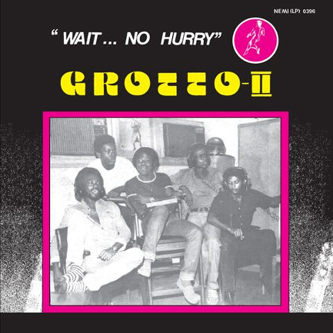 "Grotto-II - ""Wait...No Hurry"" - LP - Odion Livingstone - LIVST004LP"