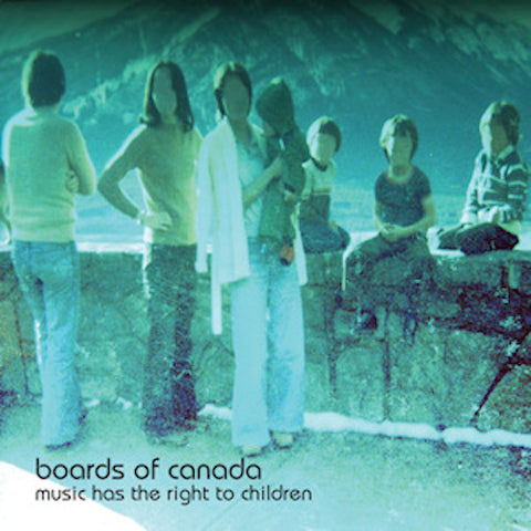 Boards of Canada - Music Has the Right to Children - 2xLP - Warp Records - warplp55r