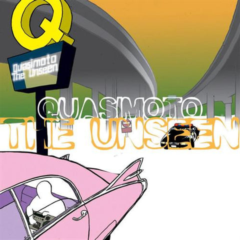 Quasimoto - The Unseen - 2LP - Stones Throw Records - STH2025-1