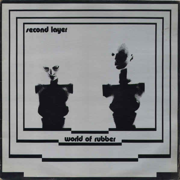 Second Layer - World of Rubber - 2xLP - Dark Entries - DE-096