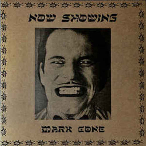 "Mark Cone - Now Showing - 12"" - Neck Chop Records - CHOP-022"