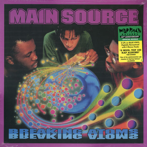 Main Source - Breaking Atoms - 2xLP - Wild Pitch Records - MWP003