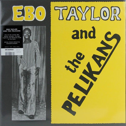 Ebo Taylor and The Pelikans - LP - Mr Bongo - MRBLP146