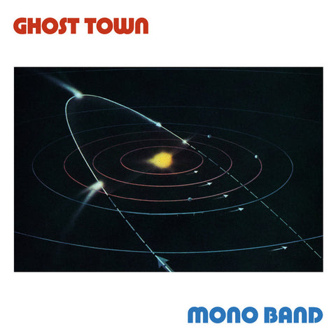 "Mono Band - Ghost Town - 12"" - Dark Entries - DE-203"