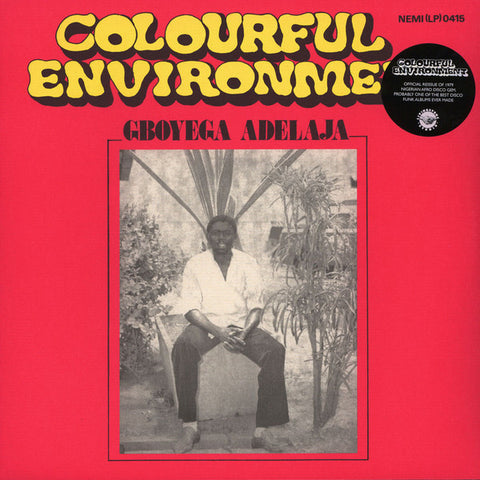 Gboyega Adelaja - Colourful Environment - LP - Odion Livingstone - LIVST006LP