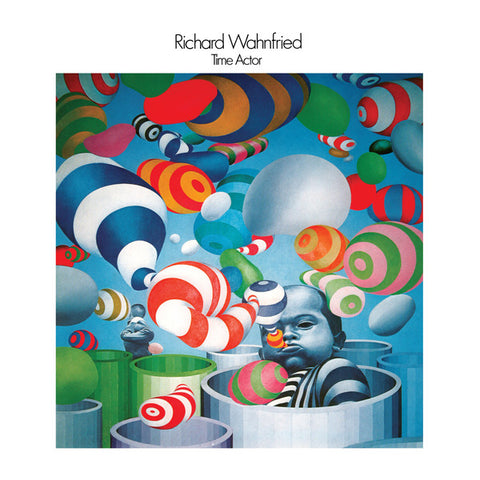 Richard Wahnfried - Time Actor - 2xLP - Dark Entries - DE-215