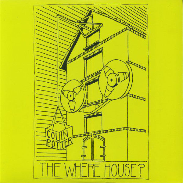 Colin Potter - The Where House? - 2xLP - Dark Entries - DE-214