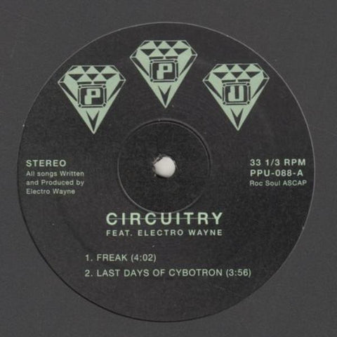 "Circuitry - Freak - 12"" - Peoples Potential Unlimited - PPU-088"