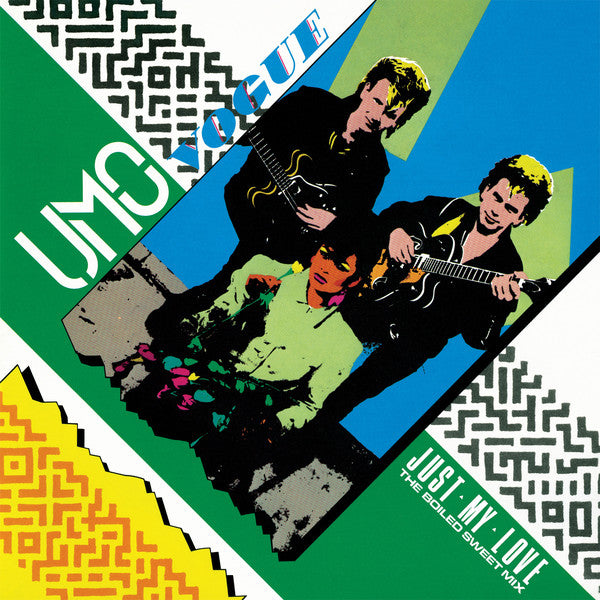 "Umo Vogue - Just My Love (The Boiled Sweet Mix) - 12"" - Dark Entries - DE-217"