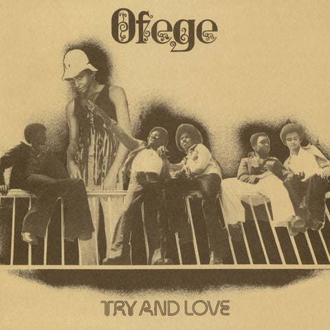 Ofege - Try And Love - LP - Tidal Waves Music - TWM20