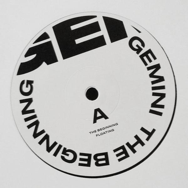 "Gemini - The Beginning - 12"" - Anotherday Records - 0007AD-1"