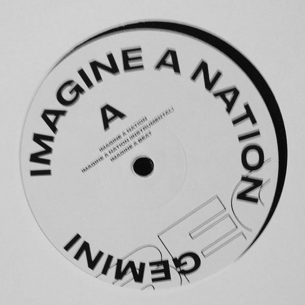 "Gemini - Imagine a Nation - 12"" - Anotherday Records - 0007AD-3"