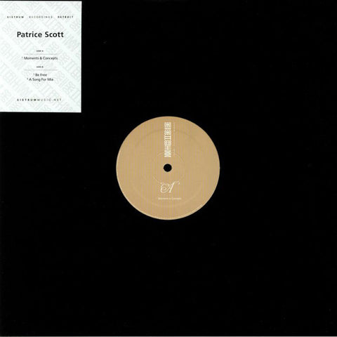 "Patrice Scott - Moments & Concepts - 12"" - Sistrum Recordings - SIS 030"