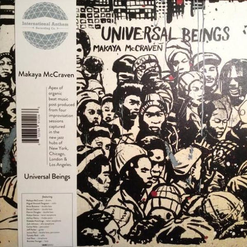 Makaya McCraven - Universal Beings - 2xLP - International Anthem Recording Company - IARC0022