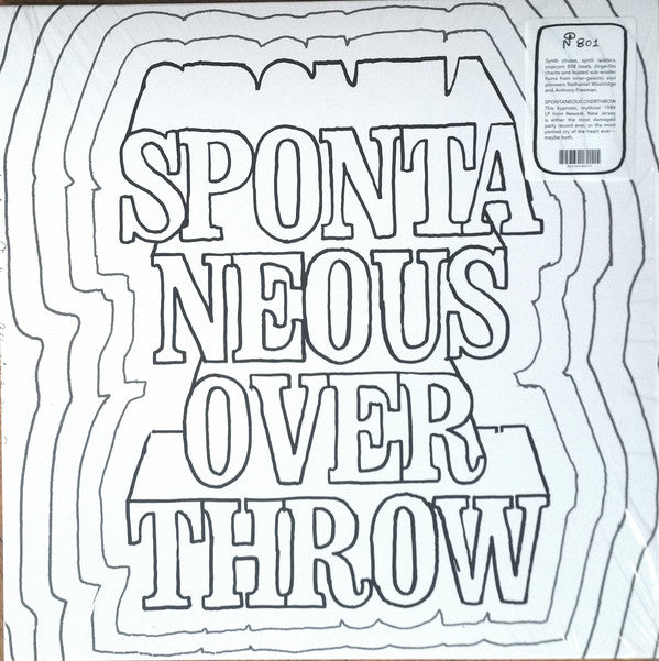 Spontaneous Overthrow - All About Money - LP - Numero Group - 801